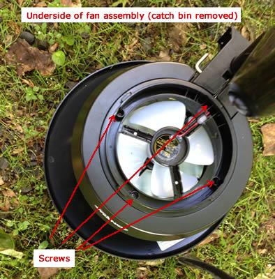 fan underside